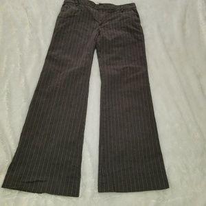 GAP Gapstretch Grey Wide Leg Pants Size 4A